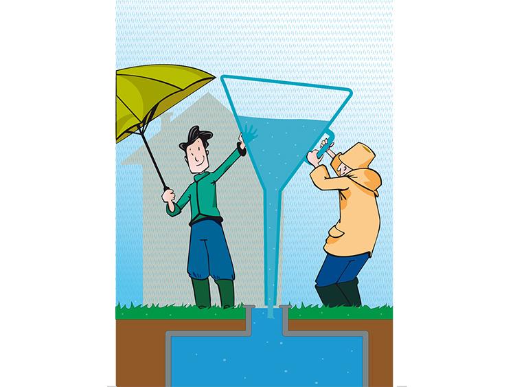 nos bons plans pour les eaux de pluie comment pr server l 39 eau. Black Bedroom Furniture Sets. Home Design Ideas