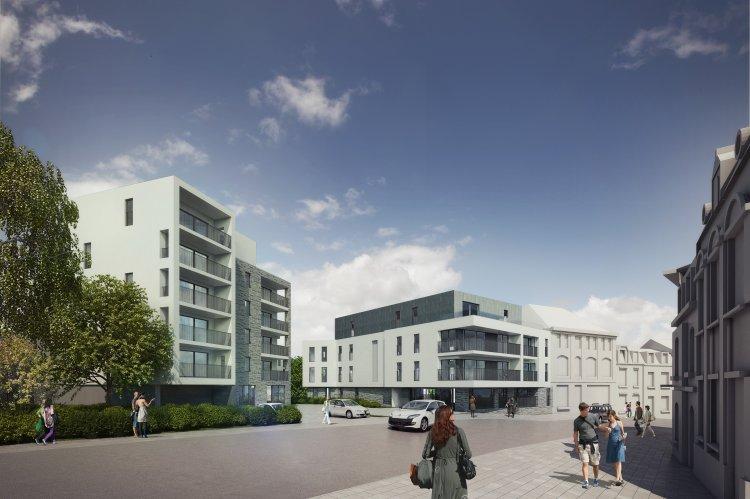 Les terrasses du luxembourg arlon m 39 implanter en for Les terrasses en ville